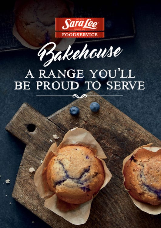 Bakehouse Muffins Brochure